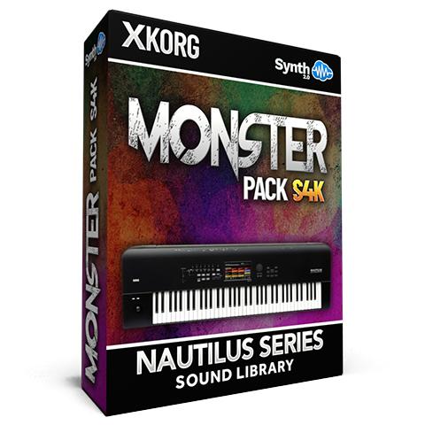 SCL162 - Monster Pack S4K - Korg Nautilus