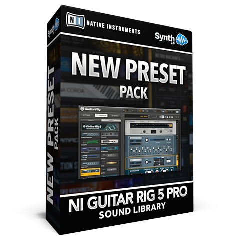 SCL55 - New Presets Pack - Guitar Rig