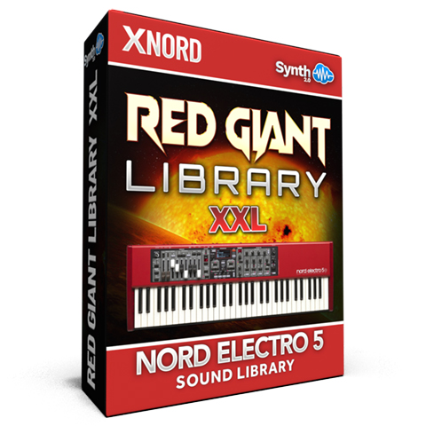 ASL006 - Red Giant XXL / Bundle Pack Vol 1,2&3 - Nord Electro 5