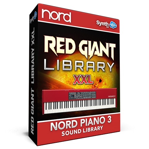 ASL006 - Red Giant XXL / Bundle Pack Vol 1,2&3 - Nord Piano 3