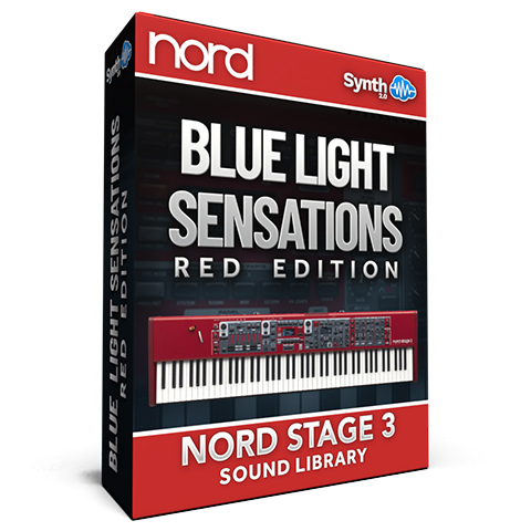 SCL114 - Blue Light Sensations (Red Edition) - Nord Stage 3