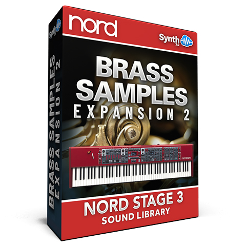 SCL205 - Brass Samples Expansion 02 - Nord Stage 3