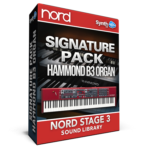 SCL58 - Signature Pack Hammond B3 Organ V1.5 - Nord Stage 3