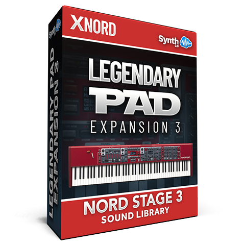SCL214 - Legendary Pads Expansion 03 - Nord Stage 3