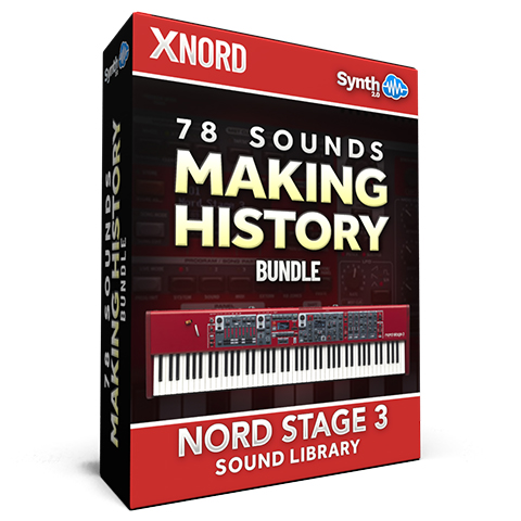 SCL337 - 78 Sounds - Making History BUNDLE  - Nord Stage 3
