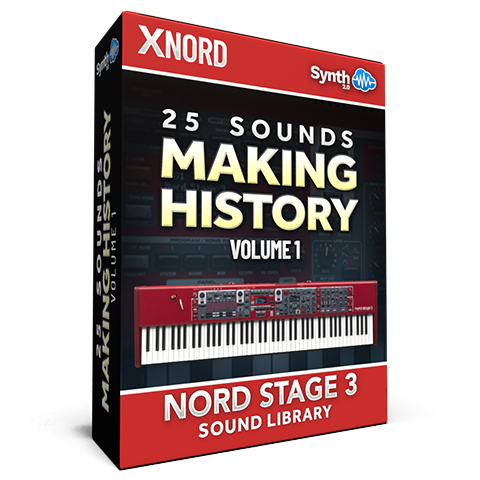 SCL152 - 25 Sounds - Making History Vol.1 - Nord Stage 3