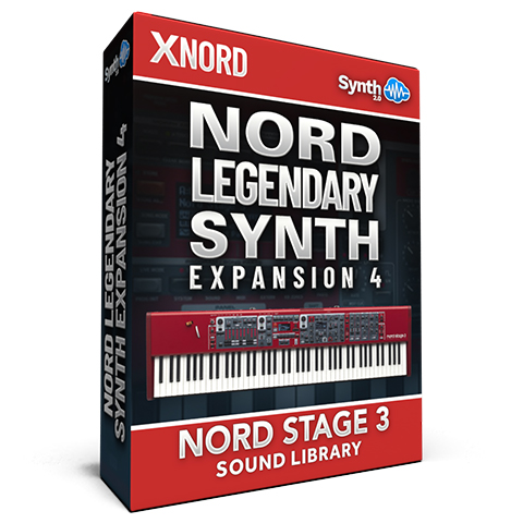 SCL232 - Nord Legendary Synth Expansion 04 - Nord Stage 3