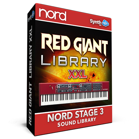 ASL006 - Red Giant XXL / Bundle Pack Vol 1,2&3 - Nord Stage 3