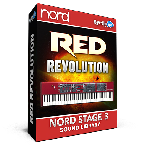 ASL024 - Red Revolution Bundle - Nord Stage 3