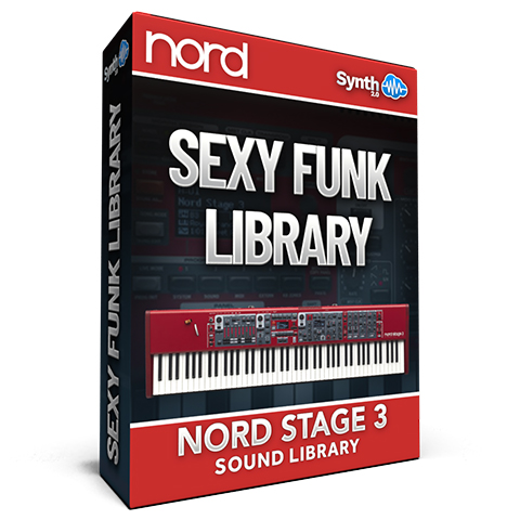 SCL90 - Sexy Funk Library - Nord Stage 3