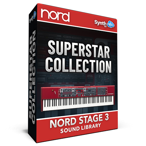 ASL018 - SuperStar Collection V3 - Nord Stage 3
