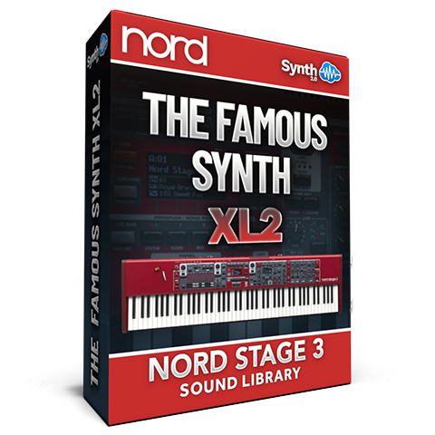 SLL026 - The Famous Synth XL 2 - Nord Stage 3
