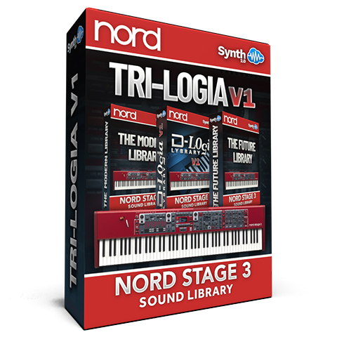 SLL018 - Tri-logia Library V1 - Nord Stage 3