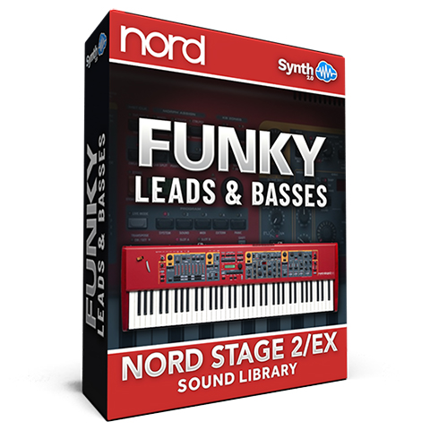 SCL299 - Funky Leads & Basses - Nord Stage 2 / 2 EX