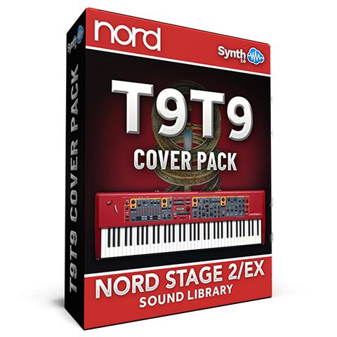 LDX146 - T9t9 Cover Pack - Nord Stage 2 / 2 EX