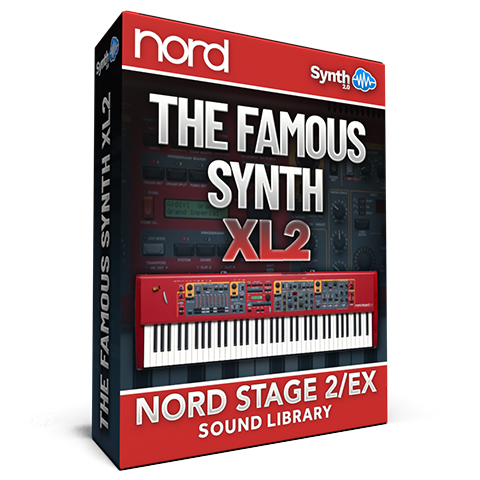 SLL026 - The Famous Synth XL 2 - Nord Stage 2 / 2 EX