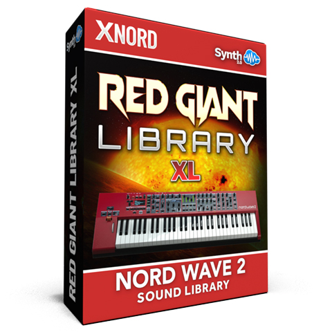 ASL005 - Red Giant XL / Bundle Pack Vol 1&2 - Nord Wave 2