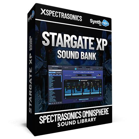 SCL142 - Stargate XP Sound Bank  - Spectrasonics Omnisphere 2