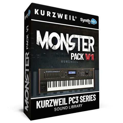 LDX142 - Monster Pack V.1 - Kurzweil Pc3 series