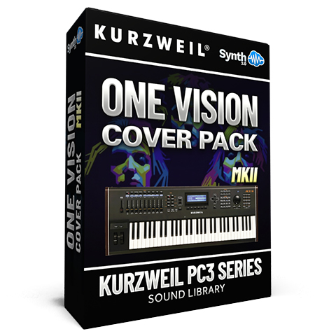 LDX136 - One Vision Cover Pack - Kurzweil PC3 Series