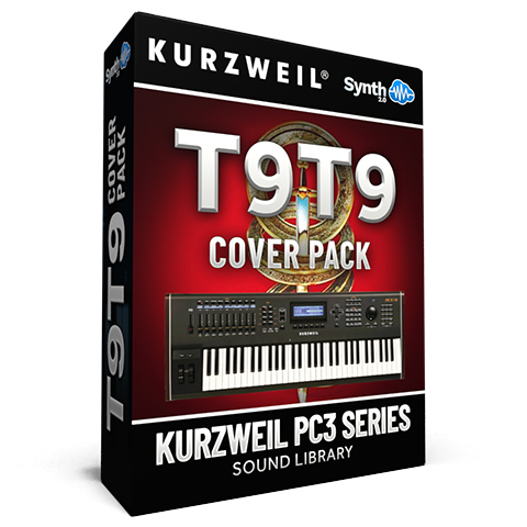 LDX137 - T9T9 Cover Pack - Kurzweil PC3 Series