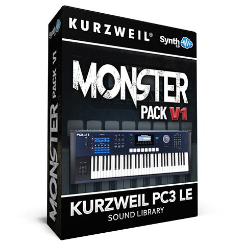 LDX142 - Monster Pack V.1 - Kurzweil PC3LE