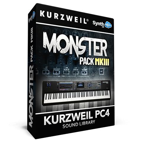 LDX174 - Monster Pack MKIII - Kurzweil PC4