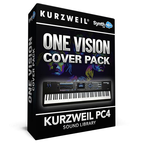 LDX136 - One Vision Cover Pack - Kurzweil PC4