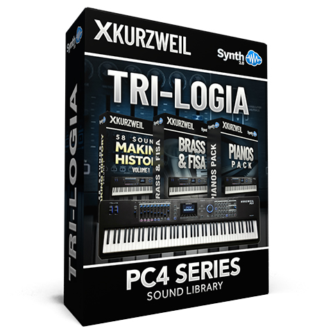 SCL255 - Tri-logia Library - Kurzweil PC4