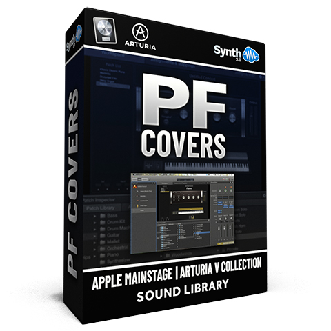 SCL247 - PF Covers - Apple MainStage | Arturia V Collection