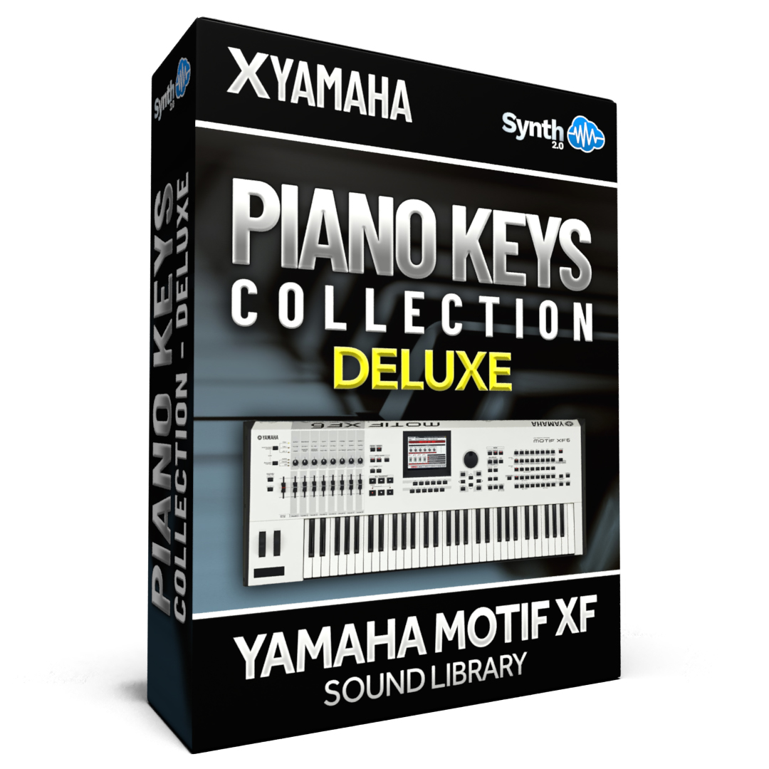 SCL87 - Piano & Keys / Collection DELUXE - Yamaha Motif XF