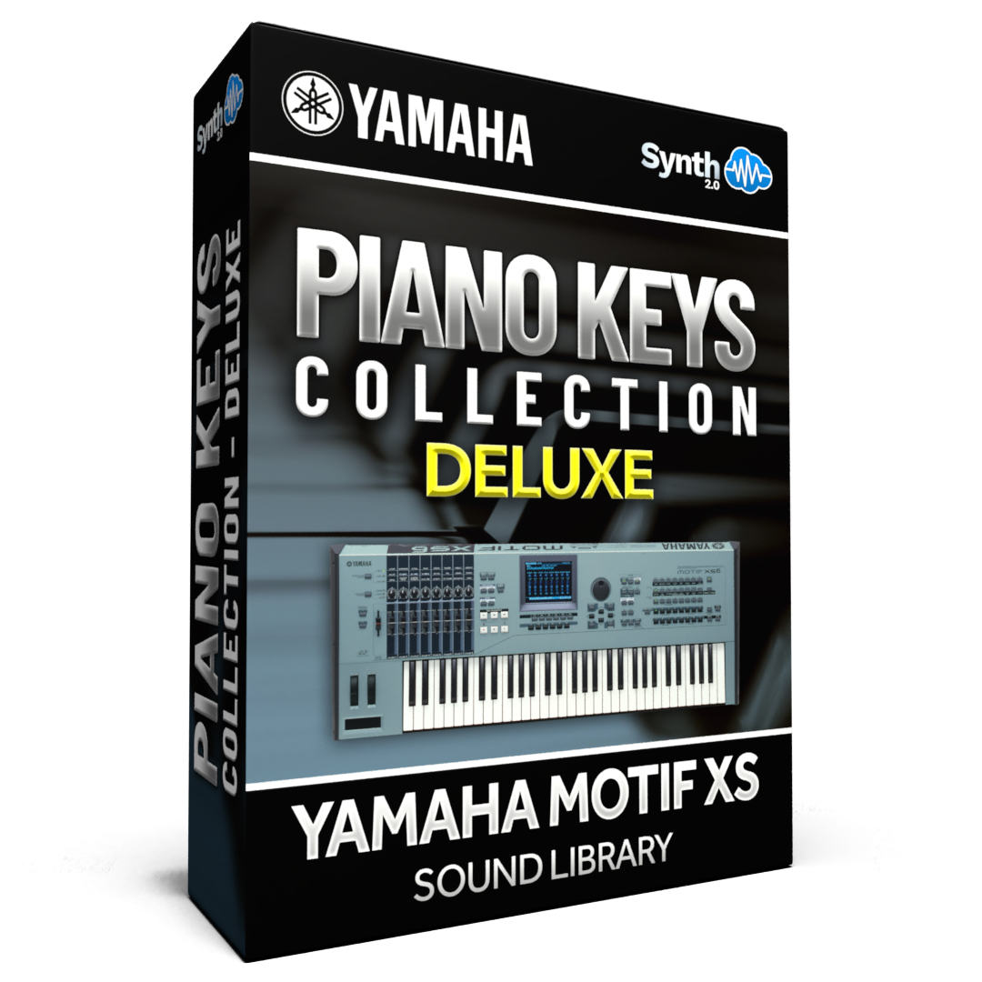 SCL87 - Piano & Keys / Collection DELUXE - Yamaha Motif XS