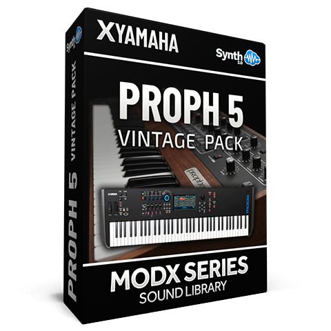 SCL219 - Proph 5 Vintage Pack - Yamaha MODX