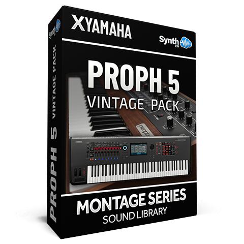 SCL219 - Proph 5 Vintage Pack - Yamaha MONTAGE