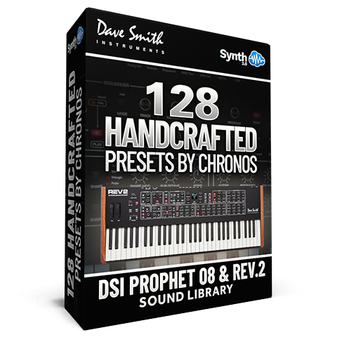 LFO011 - 128 Handcrafted Presets - Sequential Prophet Rev2 ( 8 - 16 voices )