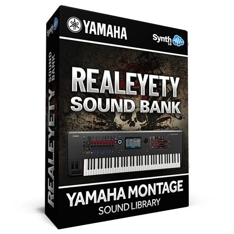 SCL141 - Realeyety Sound Bank - Yamaha MONTAGE