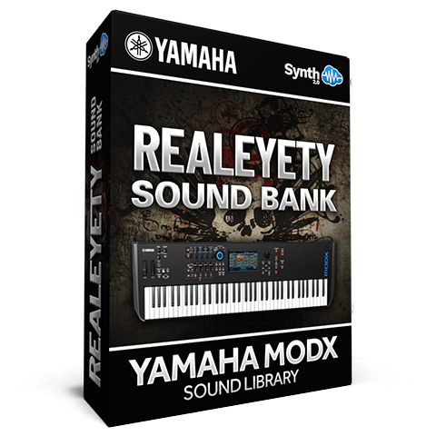 SCL141 - Realeyety Sound Bank - Yamaha MODX