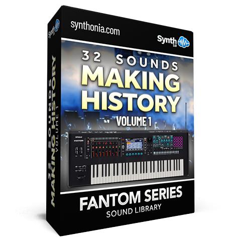 SCL152 - 32 Sounds - Making History Vol.1 - Fantom