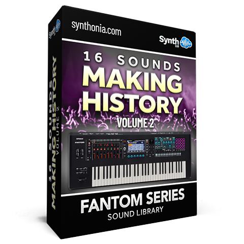 SCL208 - 16 Sounds - Making History Vol.2 - Fantom