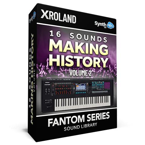 SCL208 - 16 Sounds - Making History Vol.2 - Roland Fantom