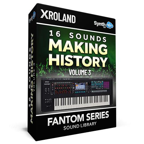 SCL332 - 16 Sounds - Making History Vol.3 - Roland Fantom