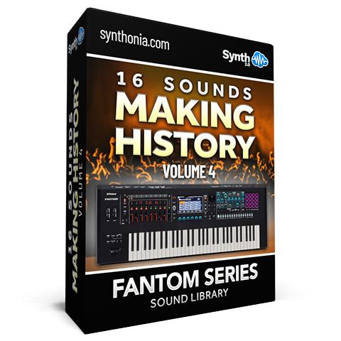 SCL369 - 16 Sounds - Making History Vol.4 - Fantom
