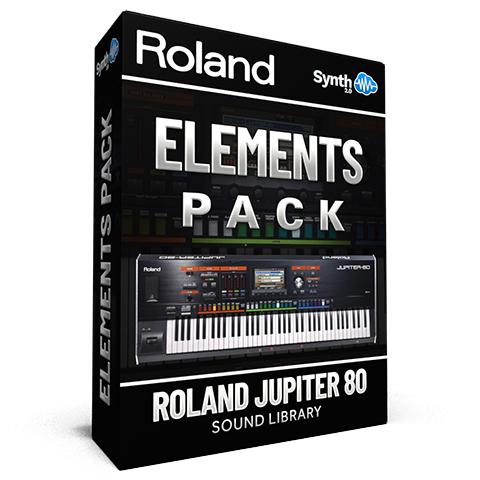 LDX107 - Elements - Roland Jupiter 80
