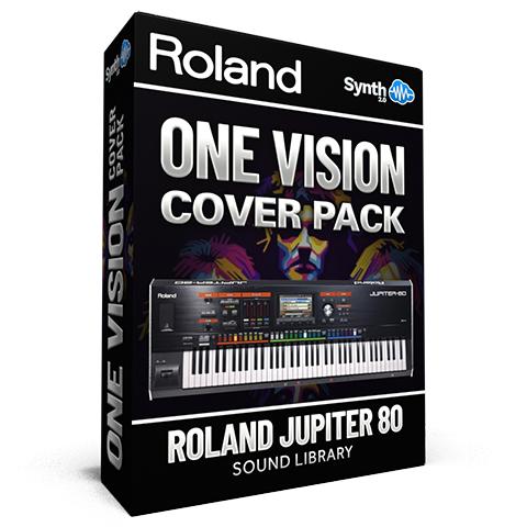 LDX172 - One Vision Cover Pack - Roland Jupiter 80