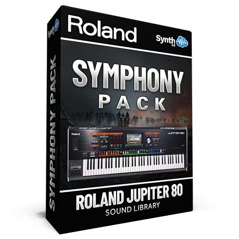 LDX104 - Symphony Pack - Roland Jupiter 80