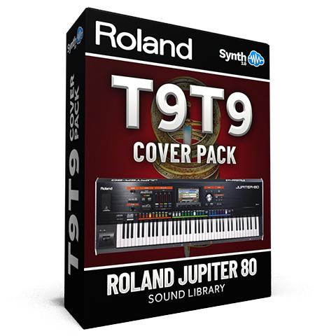 LDX181 - T9t9 Cover Pack - Roland Jupiter 80
