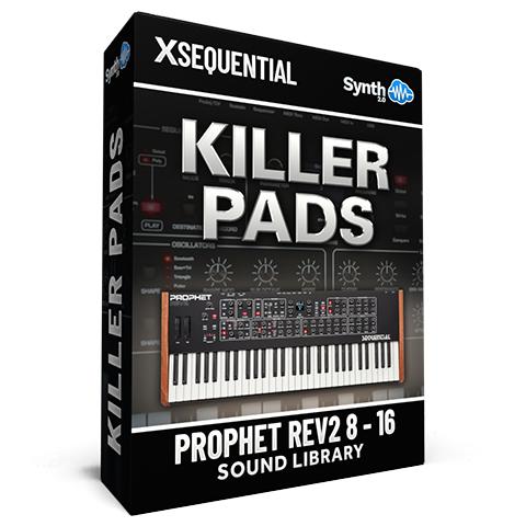 SCL265 - Killer Pads - Sequential Prophet Rev2 ( 8 - 16 voices )