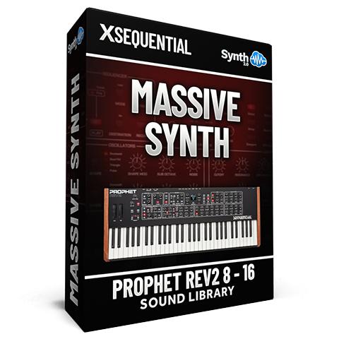 SCL258 - Massive Synth - Sequential Prophet Rev2 ( 8 - 16 voices )