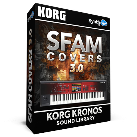 SCL163 - Sfam Covers 3.0 - Korg Kronos Series