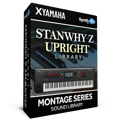 SCL259 - StanWhy Z Upright Library - Yamaha MONTAGE